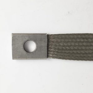 "Type IV, Rev. B, Stainless Steel Bond Strap - 6"" Image"