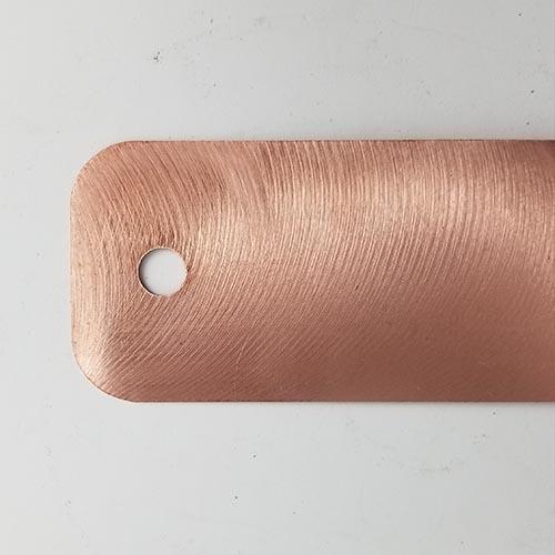 "Type III Bond Strap, Copper - 9"" Image"